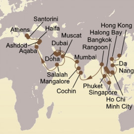 Empires of the Sea Itinerary