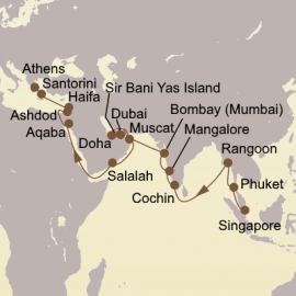 Ancient Empires Exploration Itinerary