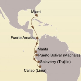 Panama Canal and Inca Gold Seabourn Cruise