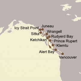 Ultimate Alaska and Inside Passage Seabourn Cruise