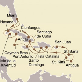 Grand Cuban Holiday Seabourn Cruise