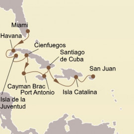 Stars of Cuba and Caribbean Skies Seabourn Cruise