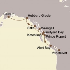 Inside Passage and Alaska Fjords Seabourn Cruise