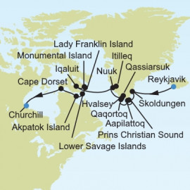 Arctic and Greenland Silversea Cruises Cruise