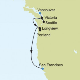 American West Coast Silversea Cruises Cruise
