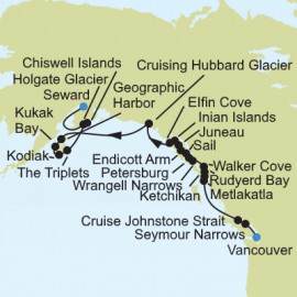 Alaska Expedition Itinerary