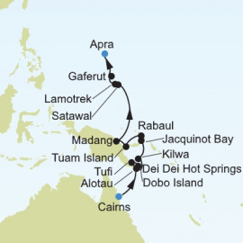Cairns To Apra Itinerary
