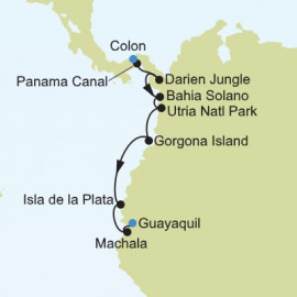 Colon to Guayaquil Silversea Cruises Cruise