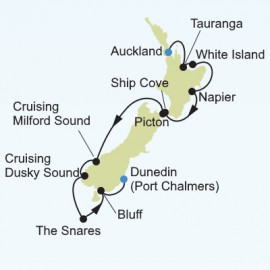 New Zealand Silversea Cruises Cruise