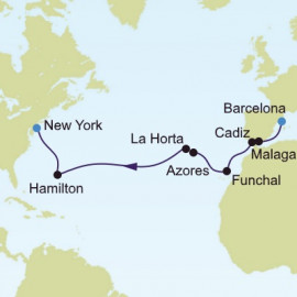 Barcelona to New York Silversea Cruises Cruise