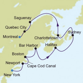New England And Canada Silversea Cruises Cruise