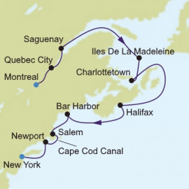 Canada and New England Silversea Cruises Cruise