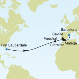 Fort Lauderdale To Barcelona Itinerary