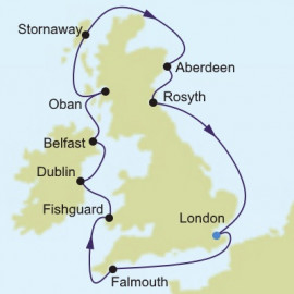 Northern Europe and British Isles Silversea Cruises Cruise