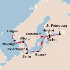 Viking Homelands Itinerary