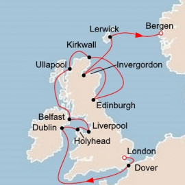 British Isles Explorer Viking Ocean Cruises Cruise