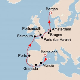 Trade Routes of the Middle Ages Viking Ocean Cruises Cruise