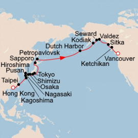 Far East and Alaska Itinerary