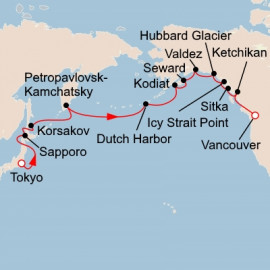 North Pacific Passage Viking Ocean Cruises Cruise