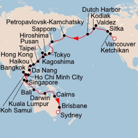 Australia Asia and Alaska Viking Ocean Cruises Cruise