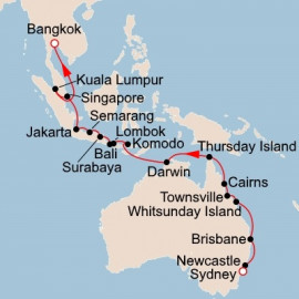 South Pacific Sojourn Itinerary