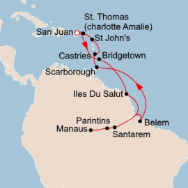 From the Caribbean to the Amazon Viking Ocean Cruises Cruise