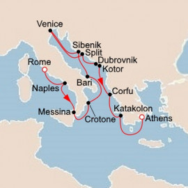 Italy and the Adriatic and Greece Viking Ocean Cruises Cruise