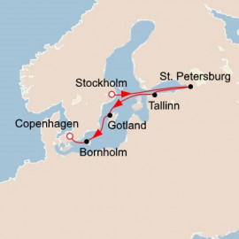 Russia and the Baltic Sea Itinerary