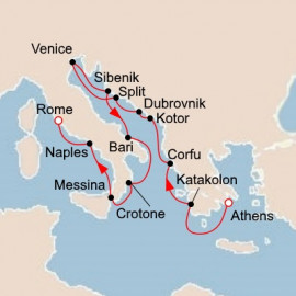 Italy The Adriatic and Greece Viking Ocean Cruises Cruise