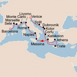Antiquities of the Mediterranean Viking Ocean Cruises Cruise