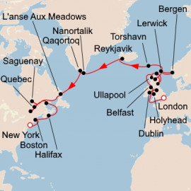 British Isles to Eastern Seaboard Viking Ocean Cruises Cruise