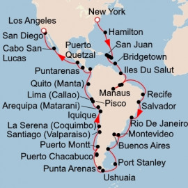 The Americas and Chilean Fjords Viking Ocean Cruises Cruise