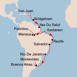 Caribbean and South American Shores Viking Ocean Cruises Cruise