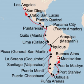 Exploring the Americas Itinerary