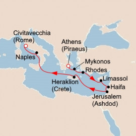 Cities of Antiquity and the Holy Land Itinerary