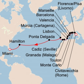 Mediterranean Explorer and Crossing Viking Ocean Cruises Cruise