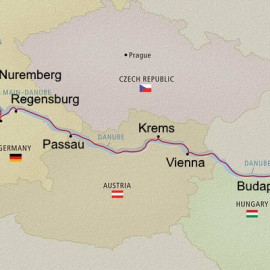 Romantic Danube Itinerary