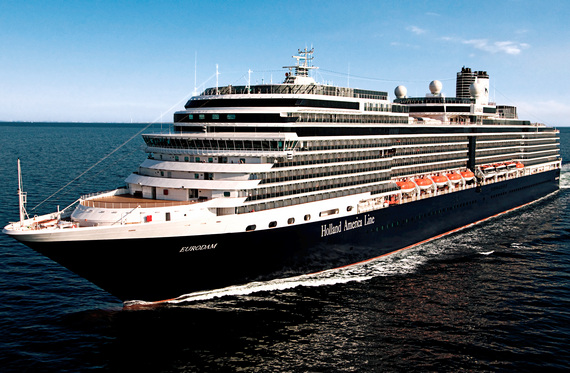 Holland America Line Eurodam australia Cruise introductions