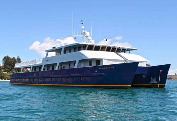 Island Escape Cruises Island Passage new zealand cruise sale