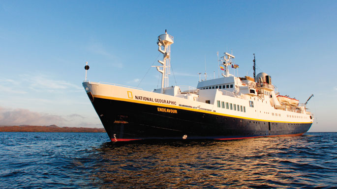 Lindblad Expedition Cruises National Geographic Endeavour australia cruise sale