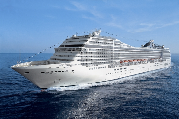 MSC Cruises MSC Orchestra new zealand cruise sale