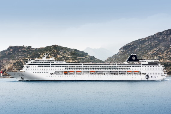 MSC Cruises MSC Sinfonia new zealand cruise sale