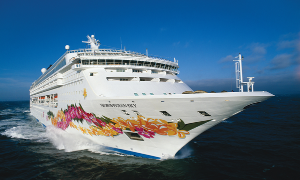 Norwegian Cruise Line Norwegian Sky new zealand NewZealandNZ