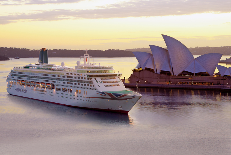 P&O Cruises UK Aurora australia senior cruises