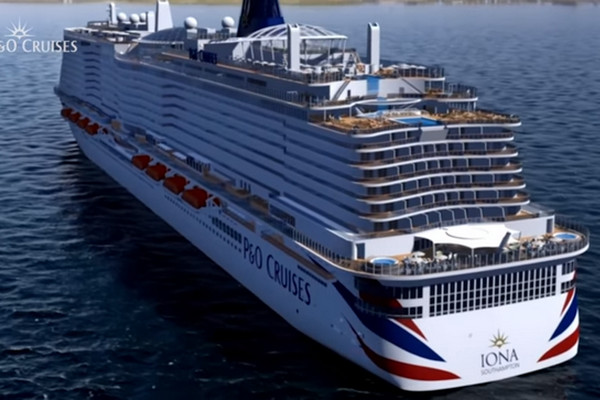 P&O Cruises UK Iona australia cheap cruises
