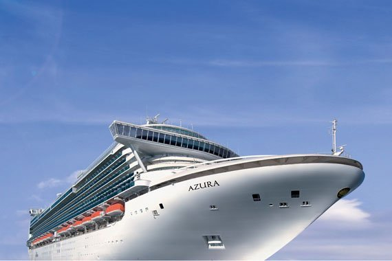 P&O Cruises UK Azura new zealand cruise sale