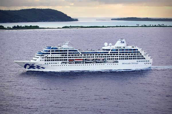 Princess Cruises Pacific Princess new zealand NewZealandNZ