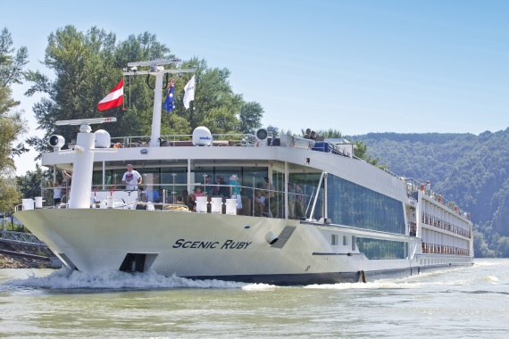 Scenic River Cruises Scenic Ruby new zealand cruise sale