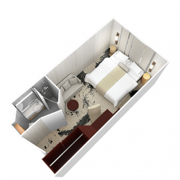 Club Interior Stateroom Layout