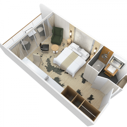 Club Continent Suite Layout